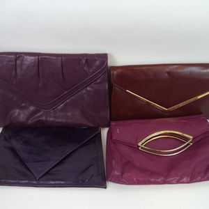 Handbags - Lot of 4 Purple Clutches CL1098 0619